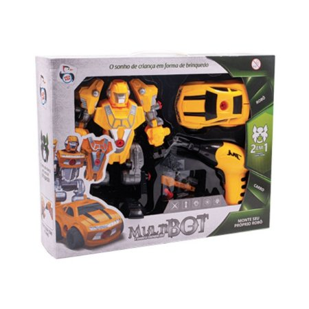 Carro e Robô Multibot Car Transform - Pica-Pau