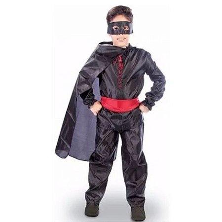 Fantasia Infantil Cavaleiro Mascarado - Sid-Nyl tamanho G