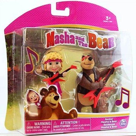 Boneca Masha E O Urso Estrela Do Rock