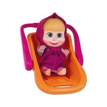 Boneca Masha e o Urso com Bebê Conforto – Cotiplás