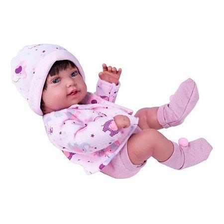 Boneca Menina Anny Doll Baby Bebê Reborn