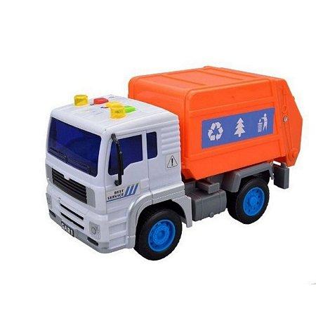 Caminhão Coleta De Lixo Com Luz E Som