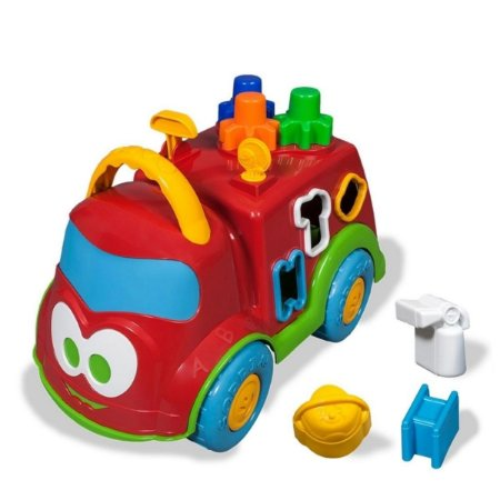 Baby Land Dino Bombeirinho - Cardoso Toys