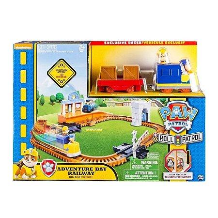 Trem De Resgate Bulldozer Patrulha Canina - Sunny