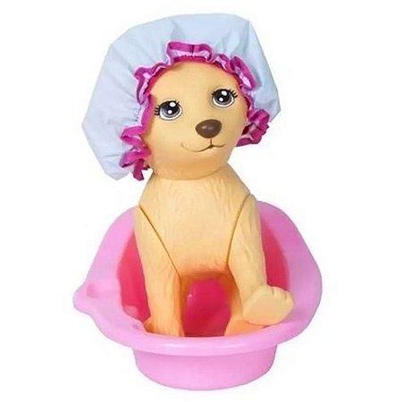 Pet Shop Da Barbie Cachorrinho Taff Com Acessórios - Pupee