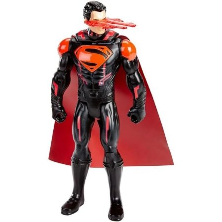 Boneco Superman, Visao de Fogo Laser, Batman Vs Superman