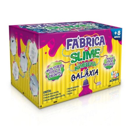 Fabrica Kimeleka Slime Galaxia - Acrilex