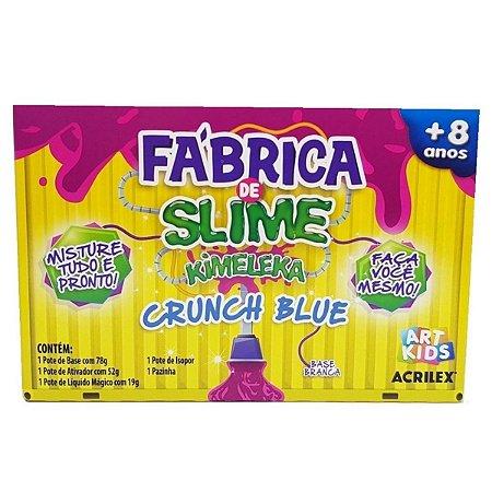 Brinquedo Fabrica De Slime Kimeleka Crunch Blue - Acrilex