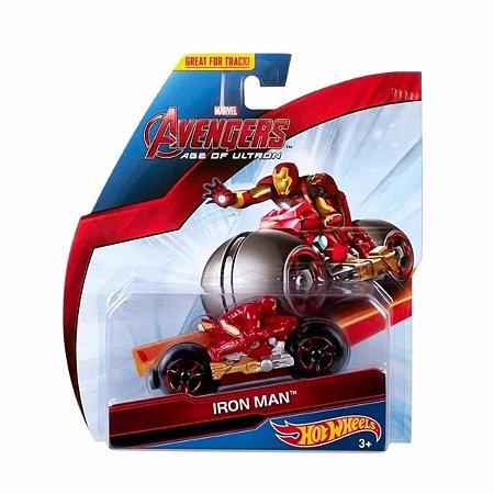 Moto Hot Wheels Vingadores Homem De Ferro -  Mattel