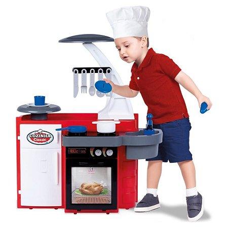 Cozinha Infantil Classic - Vermelha - Cotiplás