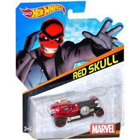 Hot Wheels Marvel Caveira Vermelha - Mattel