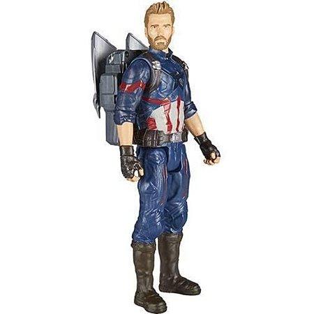 Boneco Capitão América - Os Vingadores - Power Pack