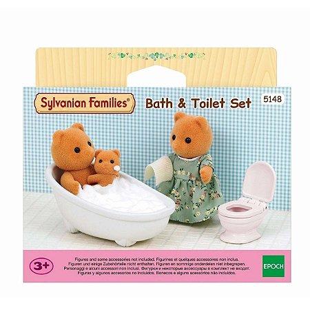 Sylvanian Families Conjunto De Toalete
