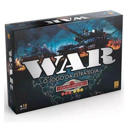 Jogo War Edição Especial Grow