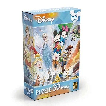 Quebra Cabeça Disney 60 Peças