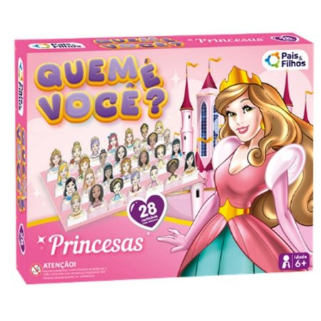 Jogo Quem É Você? Princesa