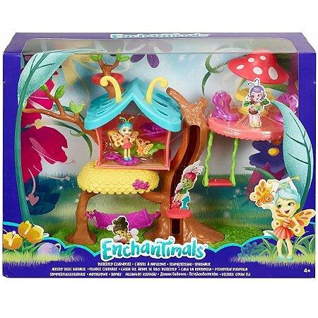 Casa Da Árvore Playset E Mini Boneca Enchantimals - Mattel