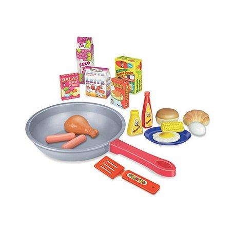 Frigideira Infantil Gourmet Com Espatula+Acessórios