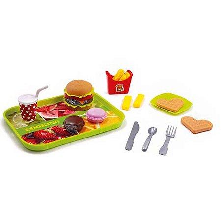 Kit Fast Food Bandeja Completa
