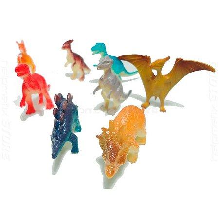 Dinossauro Mini 6cm Pacote C/ 12 Sortidos Toyng