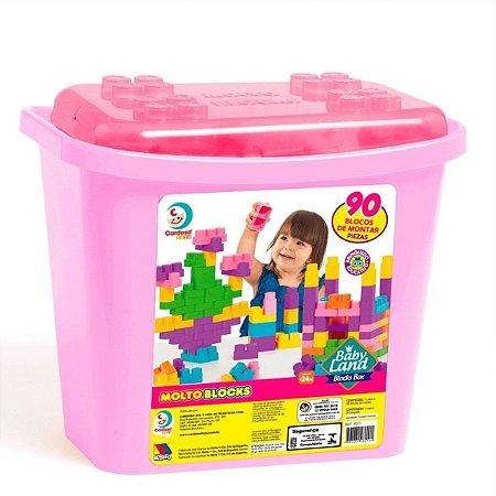 Blocks Box Baby Land 90 Peças Lego