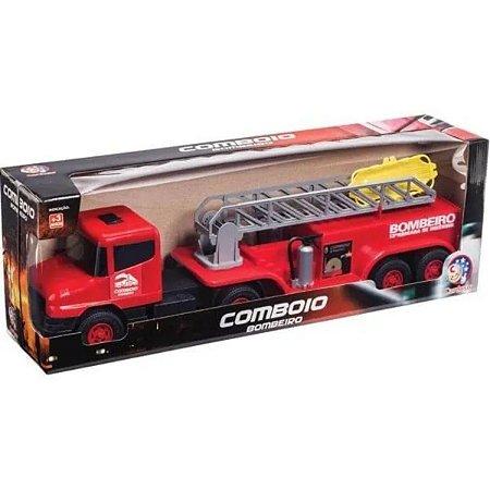 Caminhão Comboio Bombeiro-  Cardoso Toys
