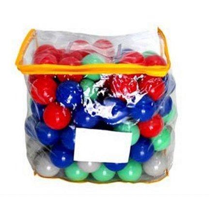 Bolinha Para Piscina Colorida Com 85Un - BB Bolinhas