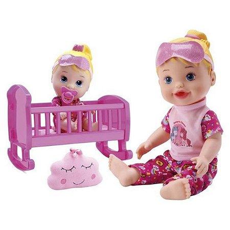 Boneca My Little Collection Brincando De Pijama