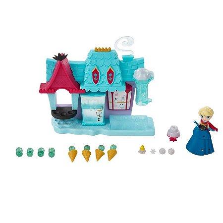 Conjunto Disney Frozen Mini Playset Confeitaria Arendelle