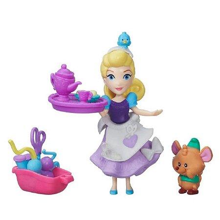 Mini Princesa E Amigos Costuras De Cinderela
