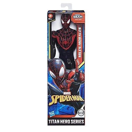 Boneco Spider-Man Warriors - Miles Morales - Hasbro