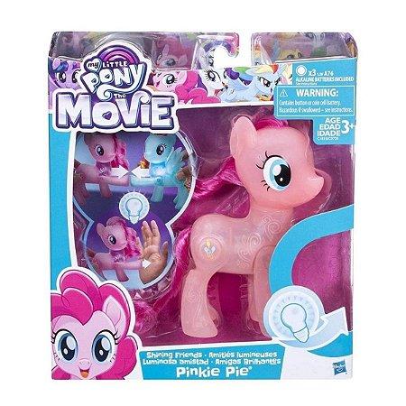 Pinkie Pie Amizade Brilhante My Little Pony - Hasbro