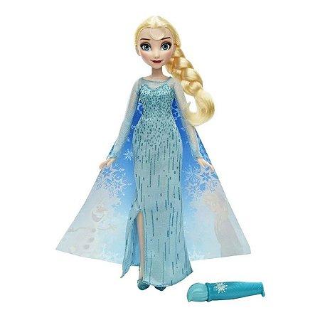 Boneca Frozen Vestido Mágico Elsa - Hasbro
