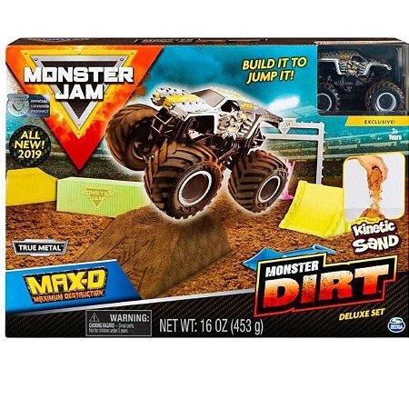Monster Jam Playset Maximum Destruction Monster Dirt - Sunny 2024