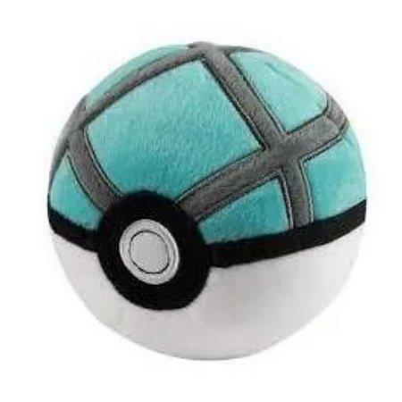 Pokébola Pokémon: Net Ball Pelúcia 11cm - Pokéball Tomy
