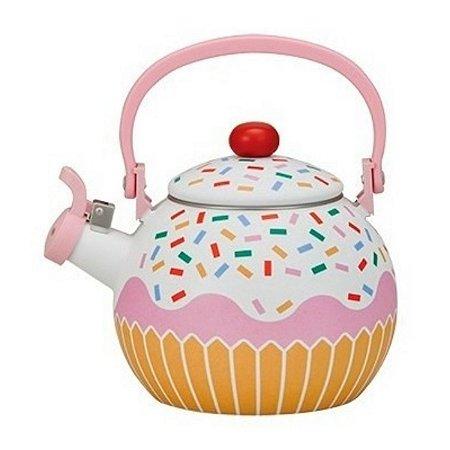 Chaleira Cupcake Esmaltada