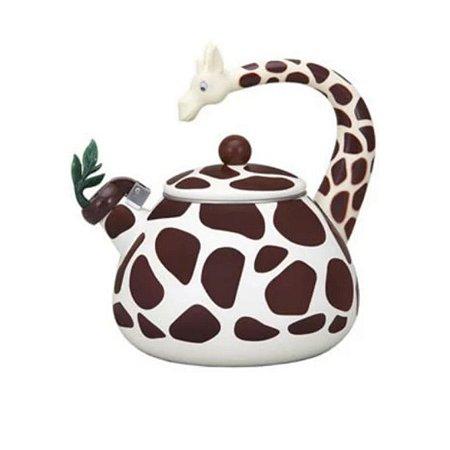 Chaleira Esmaltada Girafa