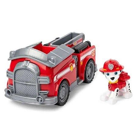 Patrulha Canina Veiculo E Boneco Marshal Fire Engine Sunny