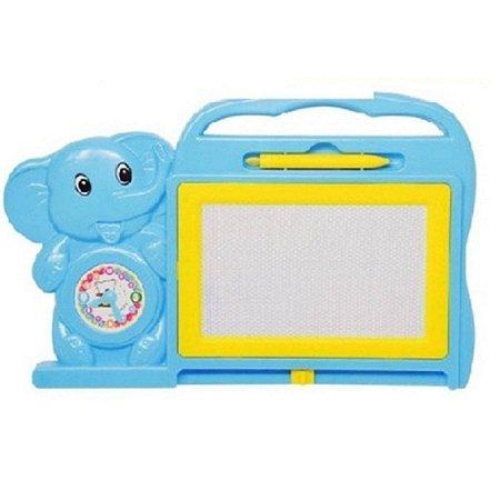 Quadro Lousa Magico Infantil Educativo - Azul - Dm Toys