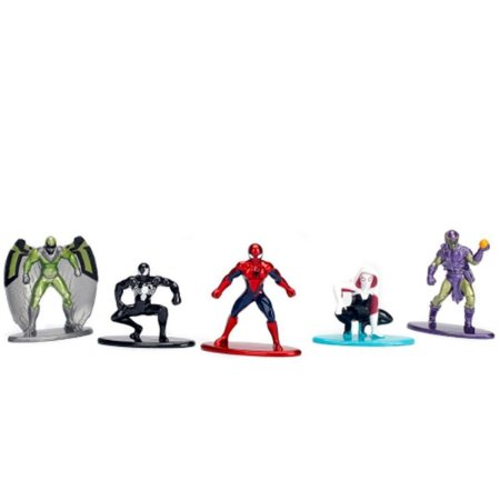 Spider-Man - Marvel - Nano Metalfigs - Pack c/ 5 Figura