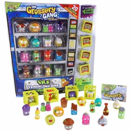 The Grossery Gang - Vencidos Machine - 20 Personagens Dtc