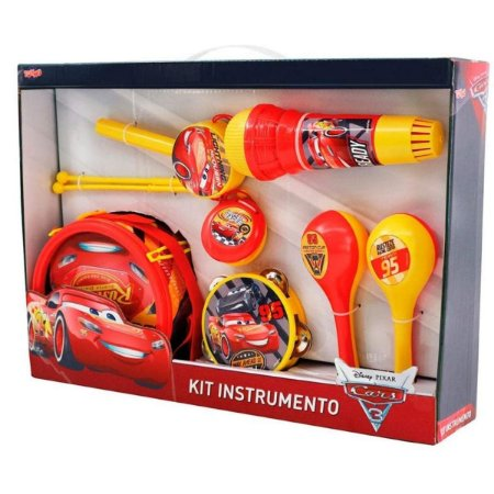 Kit instrumentos Carros Disney - Toyng