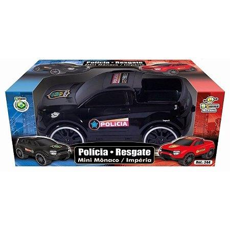 Carrinho Mini Policia - Bstoys
