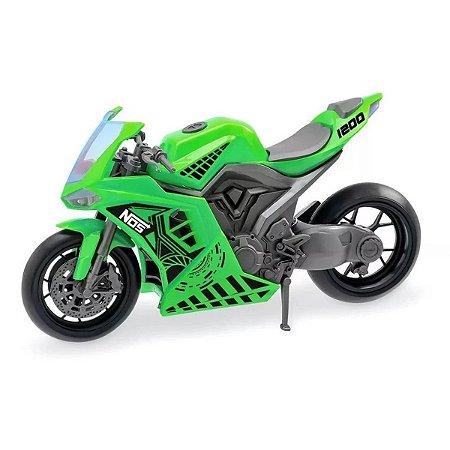 Moto De Brinquedo Nos Venon - Usual Brinquedos