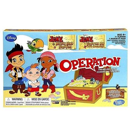 Operando Caça Ao Tesouro Jake E Os Piratas - Hasbro