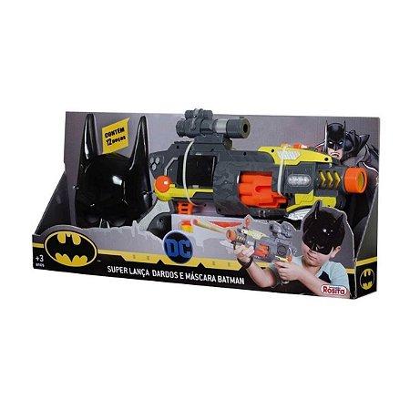 Super Lança Dardos E Máscara Batman