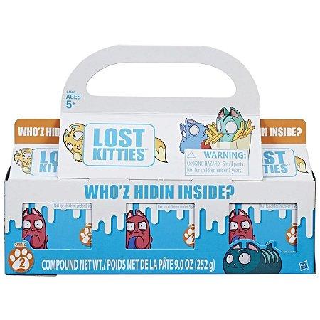 Brinquedo Lost Kitties Pack Com 3 Caixinha - Hasbro
