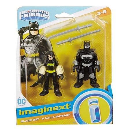 Imaginext Black Batman E Batman Ninja