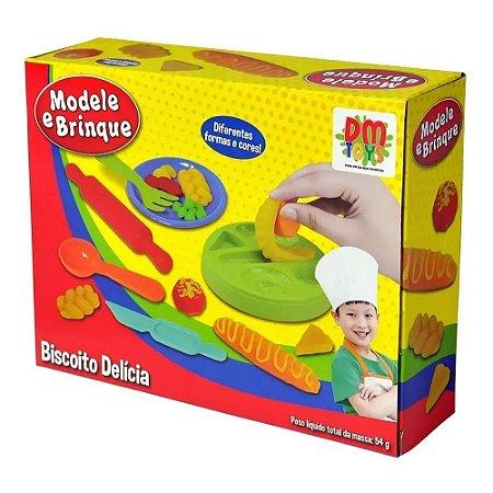 Massinha Modele E Brinque Biscoito Delícia Dmt4731