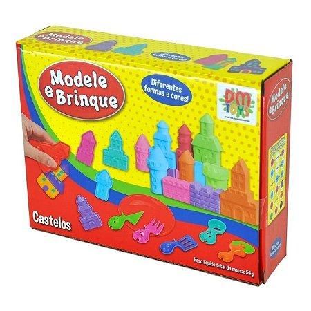 Massinha De Modelar Modele E Brinque - Castelos